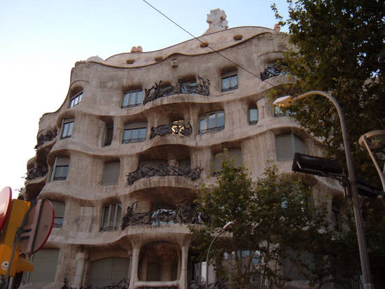 foto palazzo gaud barcellona dall 39 album viaggio in spagna