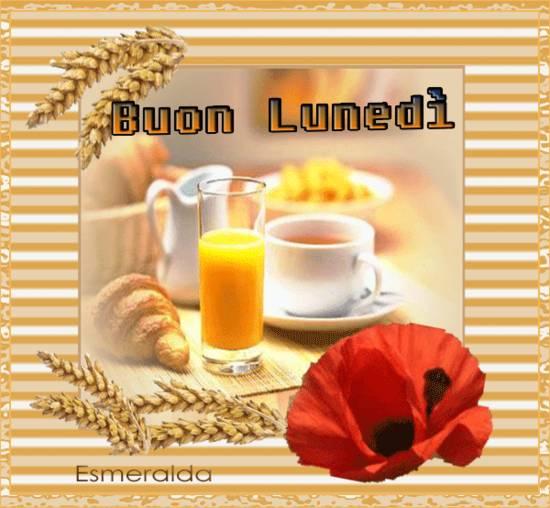 Buongiorno amici ho preparato la colazione per augurarvi for Immagini buon lunedi amici