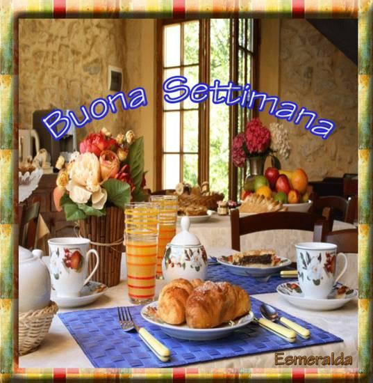Buongiorno amici ho praparato una ricca colazione per for Buongiorno con colazione