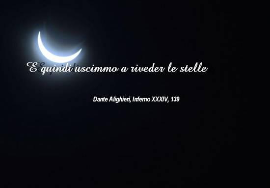 Luna e scritta