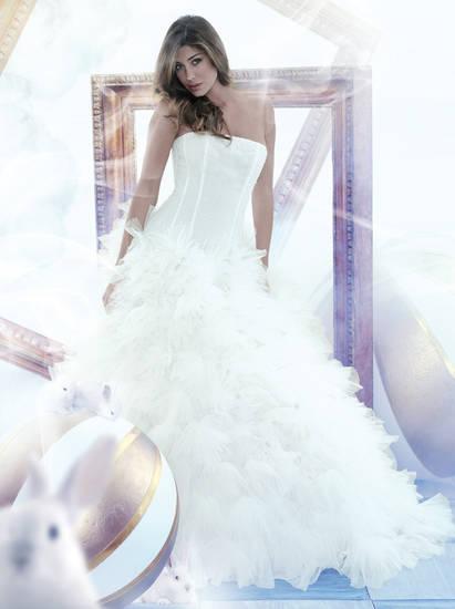 Foto 36-belen-rodriguez[1] dallalbum Vestiti da sposa Belen Rodrigez ...