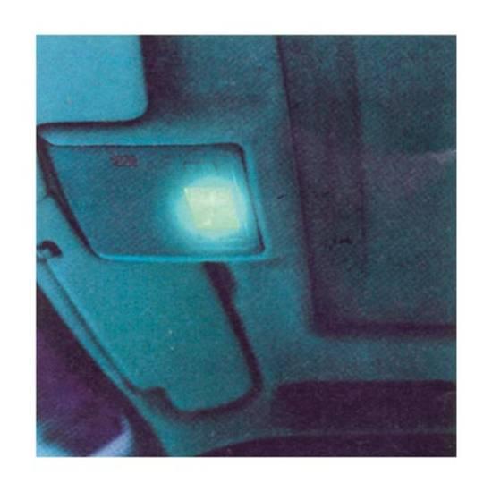 vernice lampadine blu