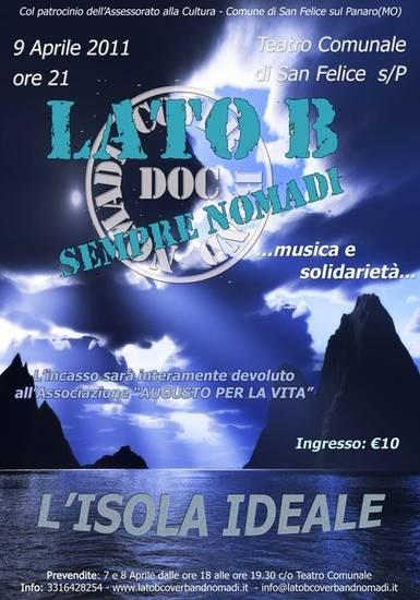 LATO B - locandina concerto -
