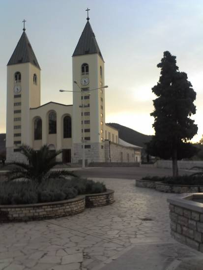 Parrocchia di San Giacomo a MEDJUGORIE