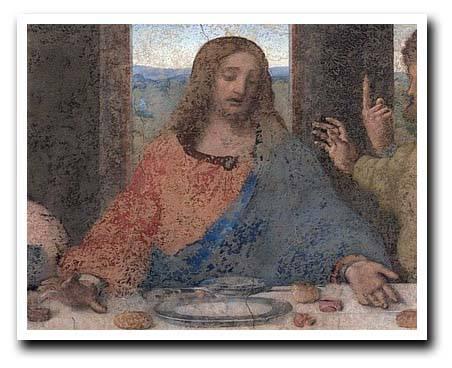 Studio di mantero sulle mani nel cenacolo - Tredici a tavola superstizione ...