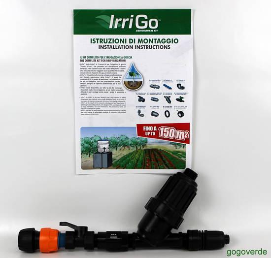 Kit irrigo irrigazione goccia orto gogoverde for Temporizzatore irrigazione