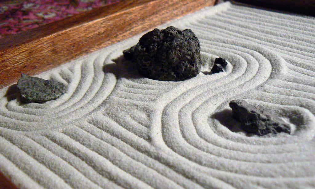 Condividi la foto p1040536 dall 39 album miniature rioanji di - Giardino zen in miniatura ...