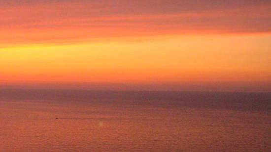 mare al tramonto ,Castelsardo