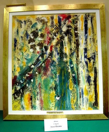 olio su tela 90 x 100