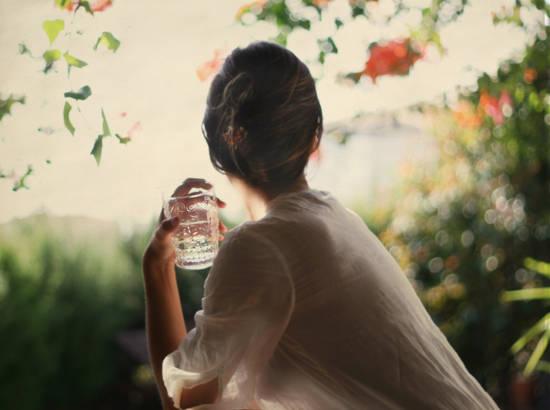 Virginia Gálvez - Desayuno en el jardin