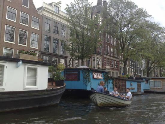 Condividi la foto case galleggianti dall 39 album im for Case galleggianti amsterdam
