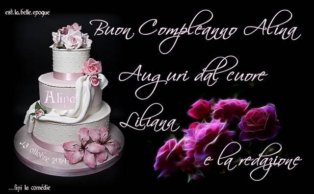 Favorito Buon Compleanno Alina..Auguri dal cuore ! su fini la comédie JF09