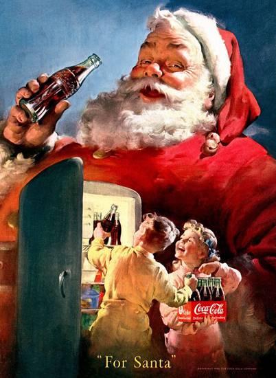 Babbo Natale Coca Cola 1931.Babbo Natale By Coca Cola