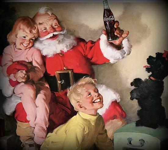 Coca Cola Babbo Natale.Babbo Natale By Coca Cola Su Come Eravamo