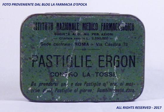 Pastiglie Ergon