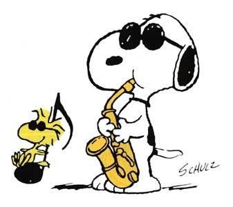 snoopy_saxofon