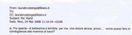 DEDICATO A KAROL / http://blog.libero.it/PRIVATISSIMO/