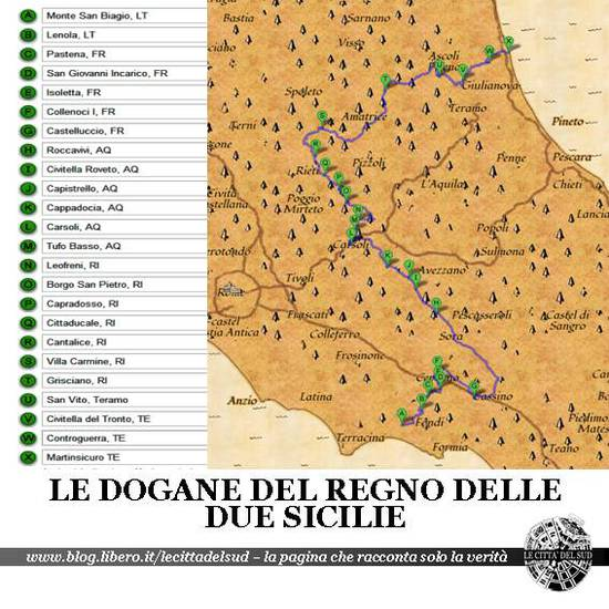 dogane Regno delle Due Sicilie