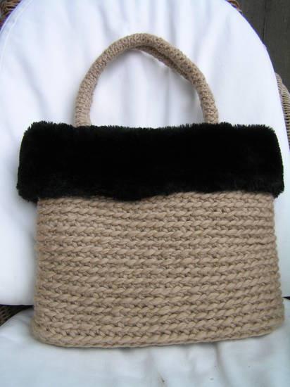 Borse Alluncinetto Con Cotone : Foto borsa all uncinetto di lana dall album borse