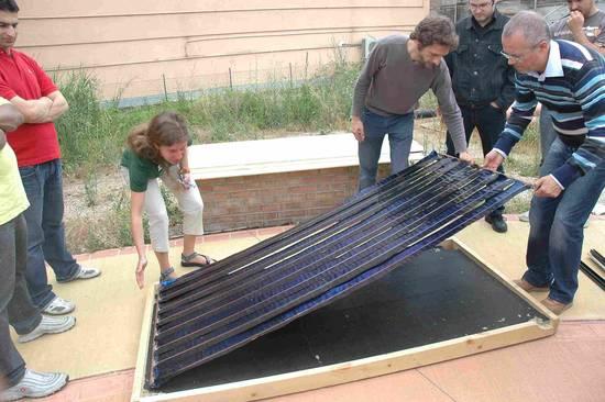 Pannello Solare Termico Autocostruito : Foto dall album corso autocostruzione pannello solare