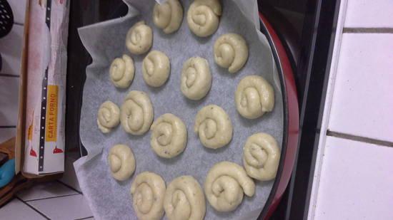 impasto biscotti
