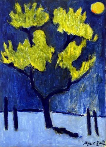 alberi gialli