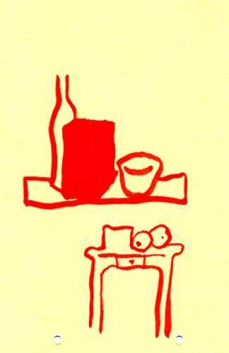 tavolino rosso
