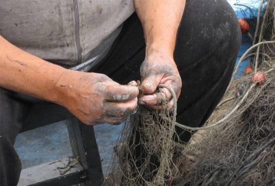 Mani pescatore