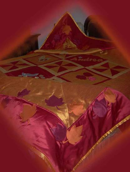 Trapunta patchwork matrimonial