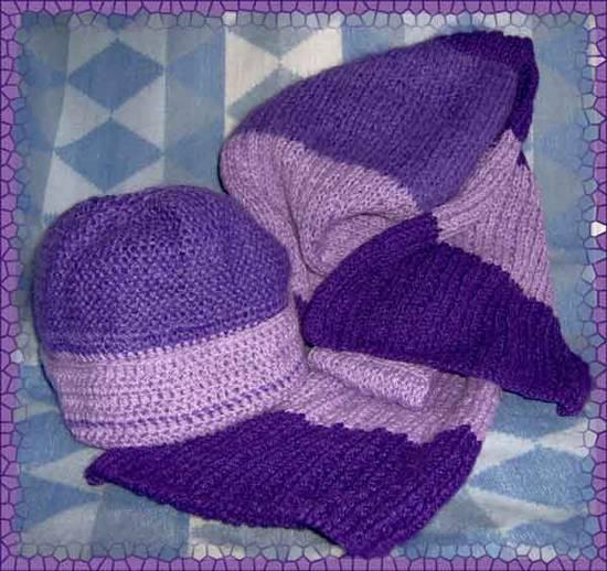 Completo lilla viola