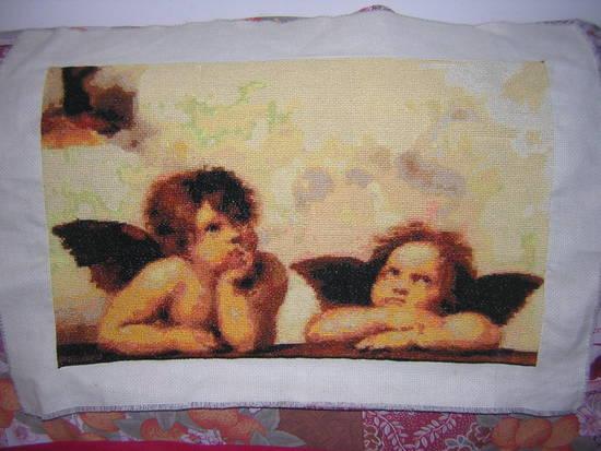 Foto angeli di raffaello dall 39 album i miei quadri di miele for Quadri con angeli