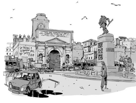 Roma città morta di Bevilacqua e Marengo