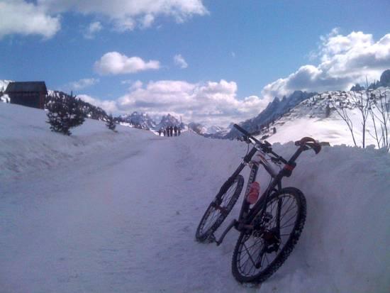Prato Piazza con la neve