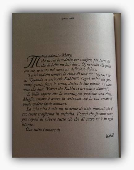 Kahlil Gibran A Mary Haskell Uomo Innamorato Oltre La Poesia Su