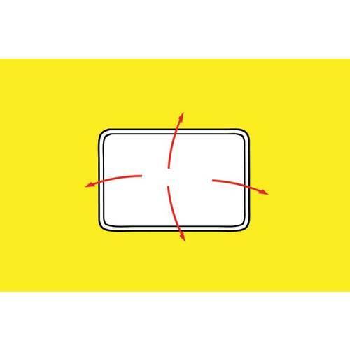 Specchietto esterno supplementare retrovisore auto ampia for Specchio adesivo brico