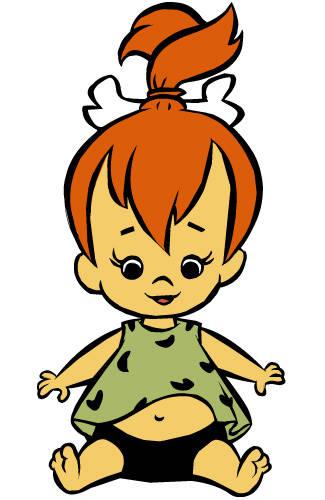 Foto Flintstone ciottolina Cartone Dallalbum Profilo Di