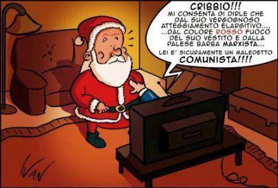 Immagini Natale Umoristiche.Babbo Natale Su Penso Positivo