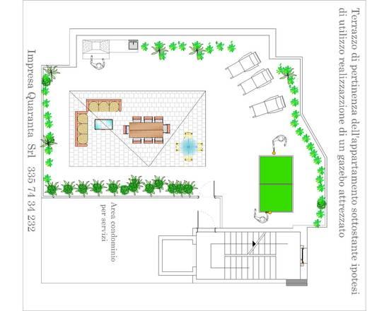 progetto base terrazzo