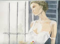 Foto ragazza alla finestra dall 39 album i miei disegni e dipinti di ricercatore1962 su libero - Ragazza alla finestra ...