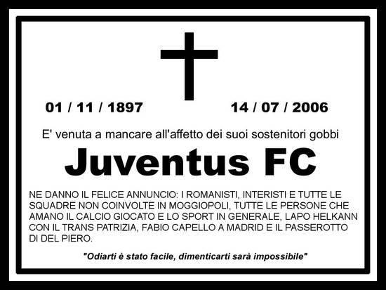 Foto Morte Juve dall'album SOLO FOTO INTER 2 di rigasguglielmo0 su ...