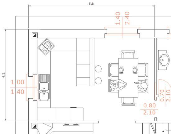 Forum consiglio disposizione cucina - Disposizione mobili cucina ...