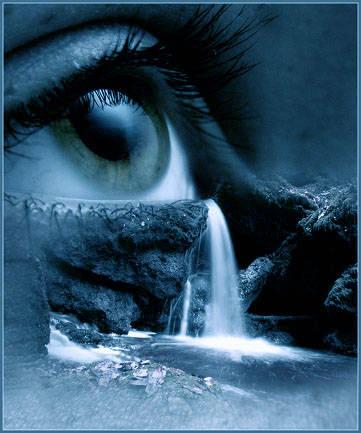 occhio che piange_blu
