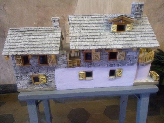 Modello di casa in pietra di Francesco Ferro