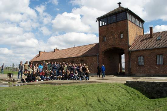 La classe V A Turismo ad Auschwitz