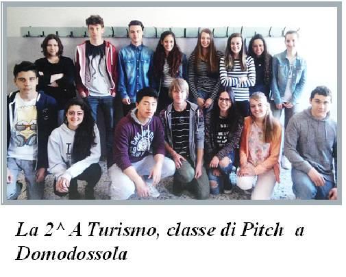 La seconda A Turismo ITCG Einaudi A.S. 2015 - 2016