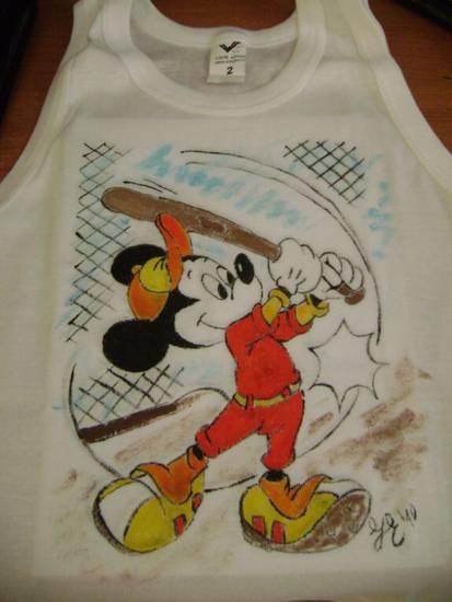maglietta pitturata