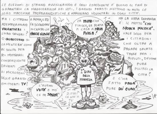 vignetta maglie gialle