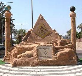 MASONIC MONUMENT