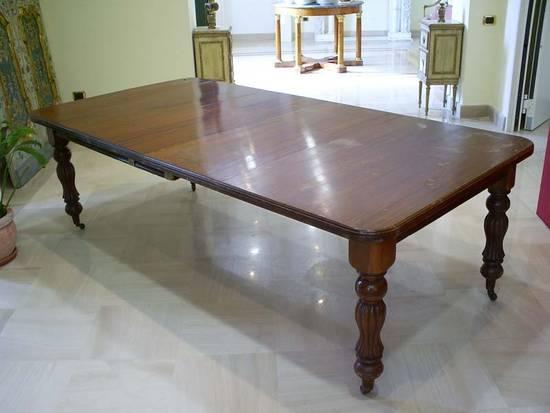 Foto tavolo inglese mogano dall 39 album tavoli antichi di torlocentroantico su libero community - Tavoli da pranzo antichi ...