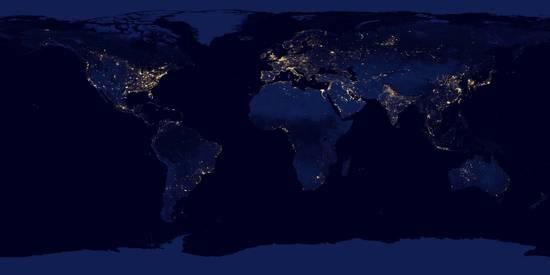 Il mondo di notte.